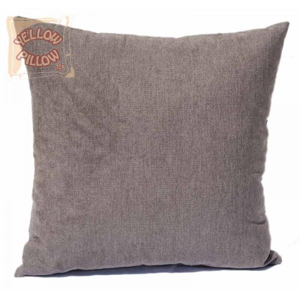 Διακοσμητικό μαξιλάρι καναπέ 45Χ45 Γκρί - 01