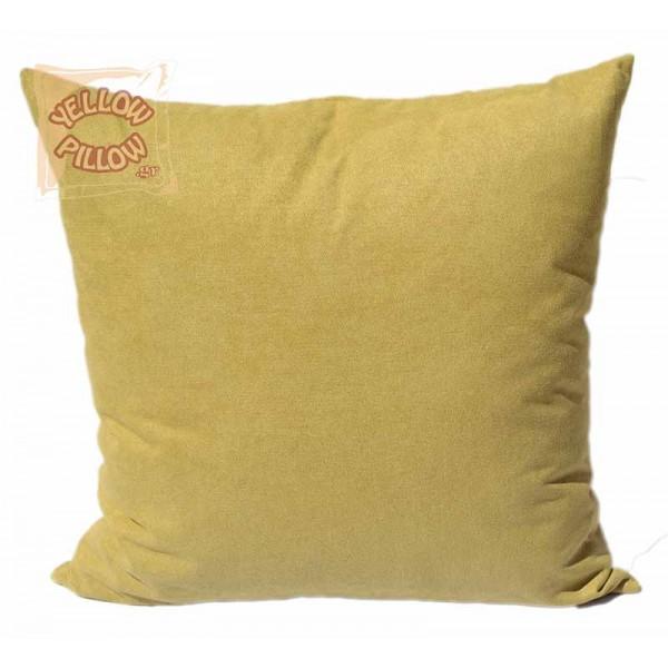 Διακοσμητικό μαξιλάρι καναπέ 45Χ45 Mουσταρδί - 01