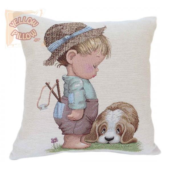 Διακοσμητικό μαξιλάρι ταπισερί 45X45 - Παιδικό 012