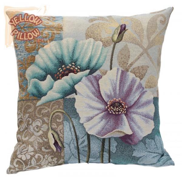 Διακοσμητικό μαξιλάρι ταπισερί-στόφα - Λουλούδια 024