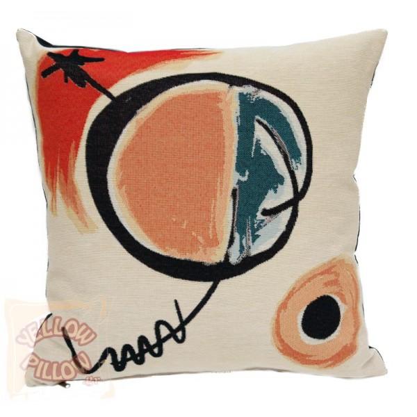 Διακοσμητικό μαξιλάρι ταπισερί-στόφα μοντέρνο - Miro 002