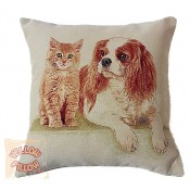 Decorative pillows with animals