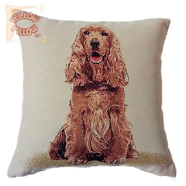 Διακοσμητικό μαξιλάρι ταπισερί-στόφα - Σκύλος 014