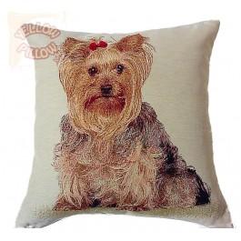 Διακοσμητικό μαξιλάρι ταπισερί-στόφα - Σκύλος 013