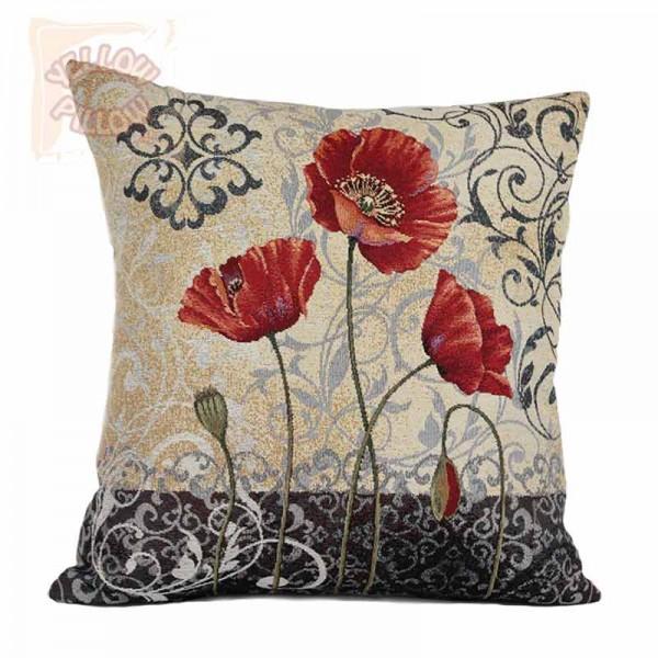 Διακοσμητικό μαξιλάρι ταπισερί - Λουλούδια 025