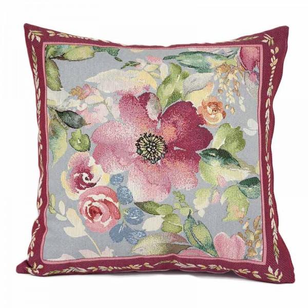Διακοσμητικό μαξιλάρι καναπέ ταπισερί - Λουλούδια 028