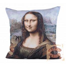 Διακοσμητικό μαξιλάρι καναπέ στόφα 45X45 - Μόνα Λίζα 004
