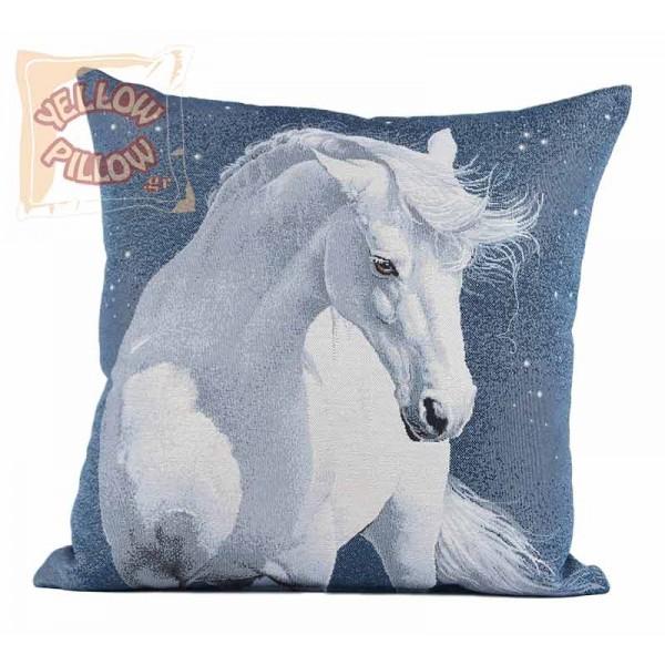 Διακοσμητικό μαξιλάρι καναπέ ταπισερί 45X45 - Άλογο 006