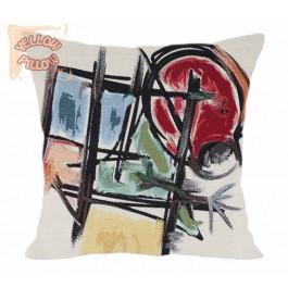 Διακοσμητικό μαξιλάρι καναπέ ταπισερί μοντέρνο - Miro 009