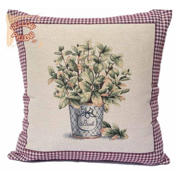 Διακοσμητικό μαξιλάρι καναπέ ταπισερί 55X55 - Βασιλικός 012
