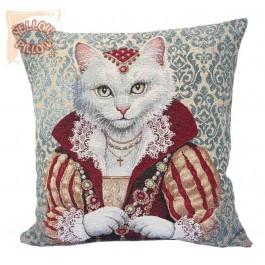 Διακοσμητική μαξιλαροθήκη ταπισερί 45X45 - Γάτα 043