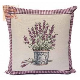 Διακοσμητικό μαξιλάρι καναπέ ταπισερί 55X55 - Λεβάντα 023