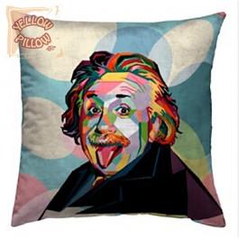 Διακοσμητικό μαξιλάρι ταπισερί - Einstein