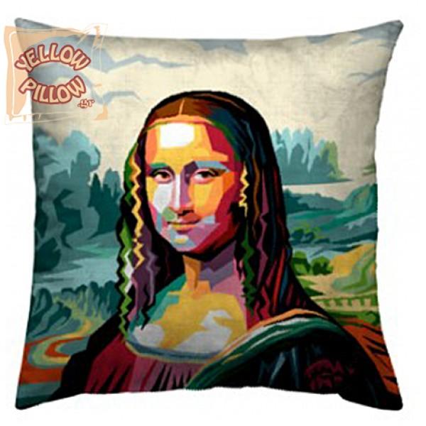 Διακοσμητικό μαξιλάρι ταπισερί - Mona Lisa