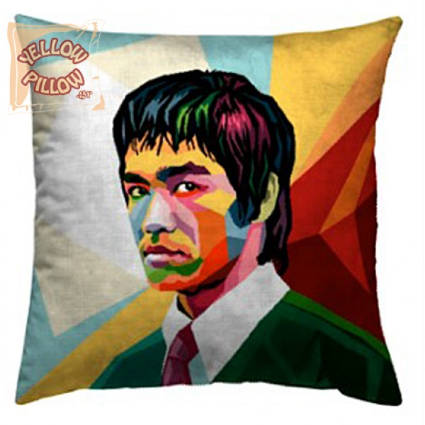 Διακοσμητικό μαξιλάρι ταπισερί 45X45 - Bruce Lee