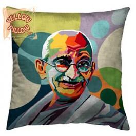 Διακοσμητικό μαξιλάρι ταπισερί - Gandhi