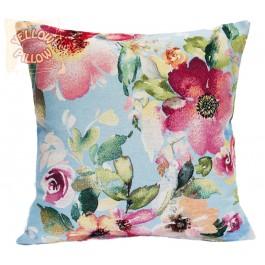 Διακοσμητικό μαξιλάρι ταπισερί-στόφα - Λουλούδια 020