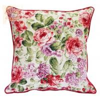 Διακοσμητικά μαξιλάρια με λουλούδια - φλοράλ