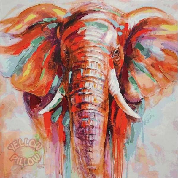 Πάντα τοίχου ταπισερί 134Χ133 - Ελέφαντας 010