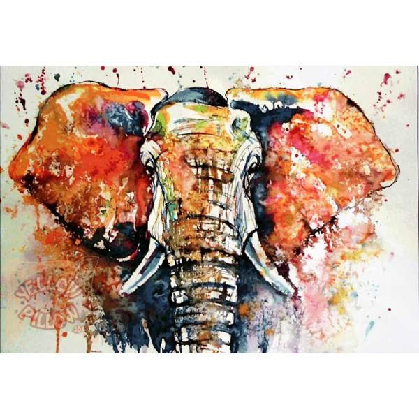 Πάντα τοίχου ταπισερί 134Χ96 - Ελέφαντας 012