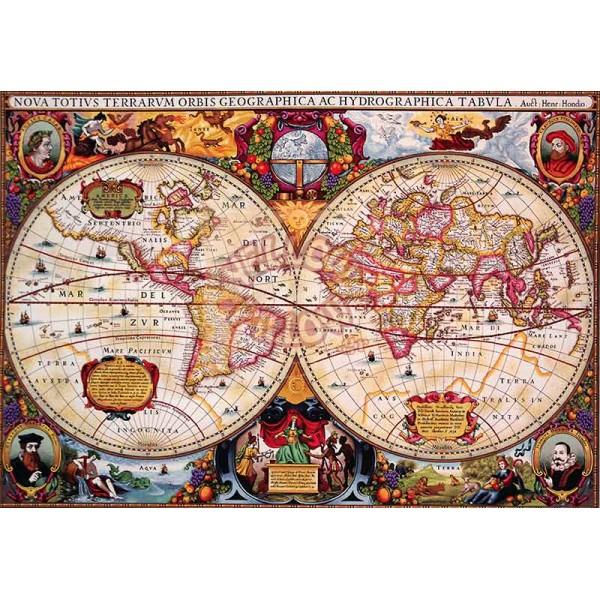 Πάντα τοίχου ταπισερί 272Χ188 - Χάρτης αντίκα 008