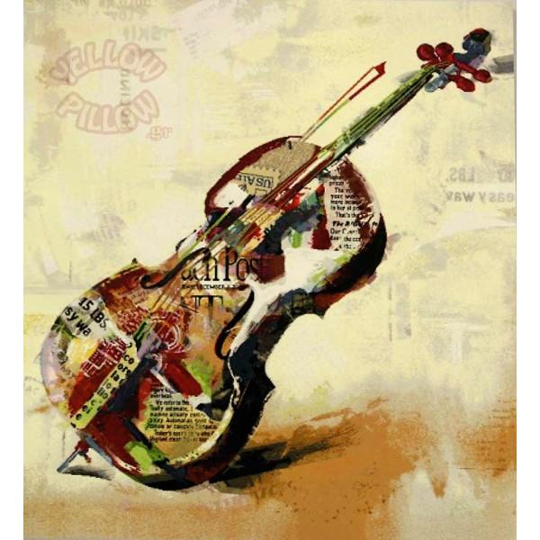 Πάντα τοίχου ταπισερί 65Χ70 - Βιολί 009