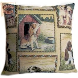 Διακοσμητικό μαξιλάρι - Σκυλάκια 012