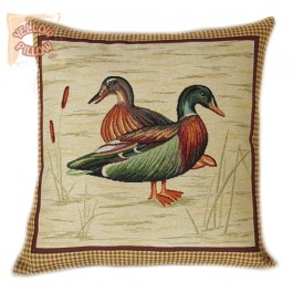 Διακοσμητικό μαξιλάρι ταπισερί - Πάπιες