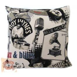Διακοσμητικό μαξιλάρι στόφα - Blues