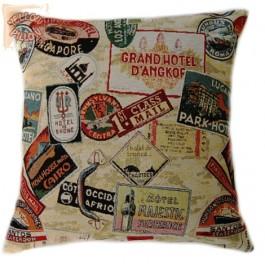 Διακοσμητικό μαξιλάρι ταπισερί -Travel