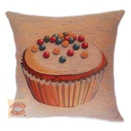 Διακοσμητικό μαξιλάρι ταπισερί - Cupcake 024