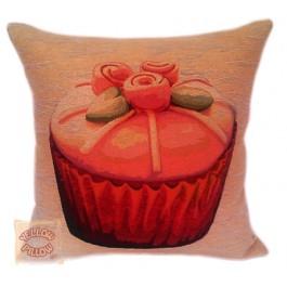 Διακοσμητικό μαξιλάρι ταπισερί - Cupcake 026