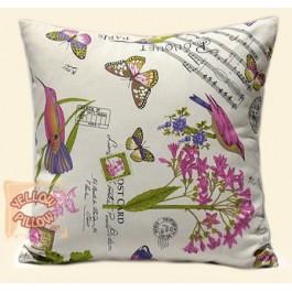 Διακοσμητικό μαξιλάρι καναπέ ανοιξιάτικο - D20