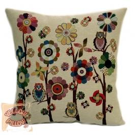 Διακοσμητικό μαξιλάρι ταπισερί με λουλούδια - Spring 021