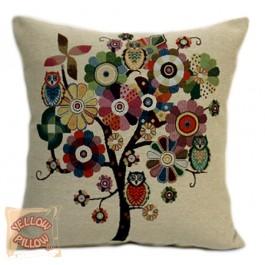 Διακοσμητικό μαξιλάρι ταπισερι με λουλούδια - Spring 022