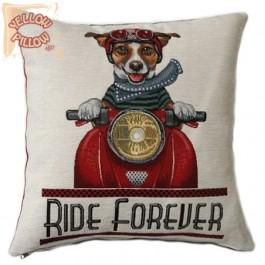 Διακοσμητικό μαξιλάρι ταπισερί - Ride for ever