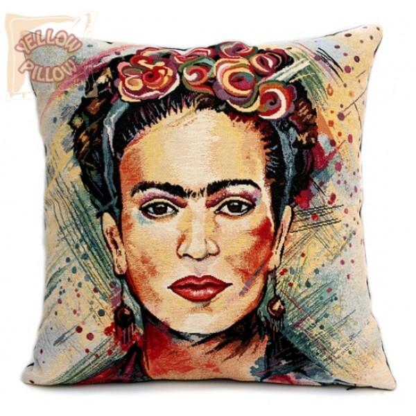 Διακοσμητικό μαξιλάρι ταπισερί - Frida Kahlo 01