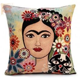 Διακοσμητικό μαξιλάρι ταπισερί - Frida Kahlo 02