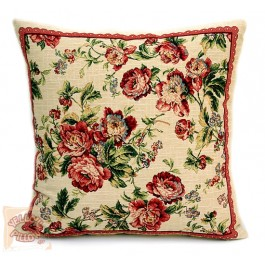 Διακοσμητικό μαξιλάρι ταπισερί φλοράλ - Roses 01