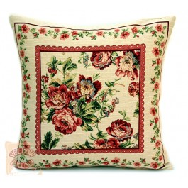 Διακοσμητικό μαξιλάρι ταπισερί φλοράλ - Roses  03