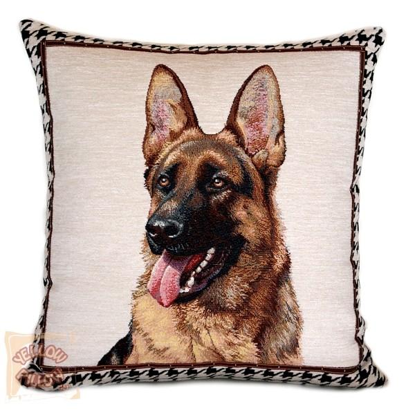 Διακοσμητικό μαξιλάρι ταπισερί - Λυκόσκυλο 01